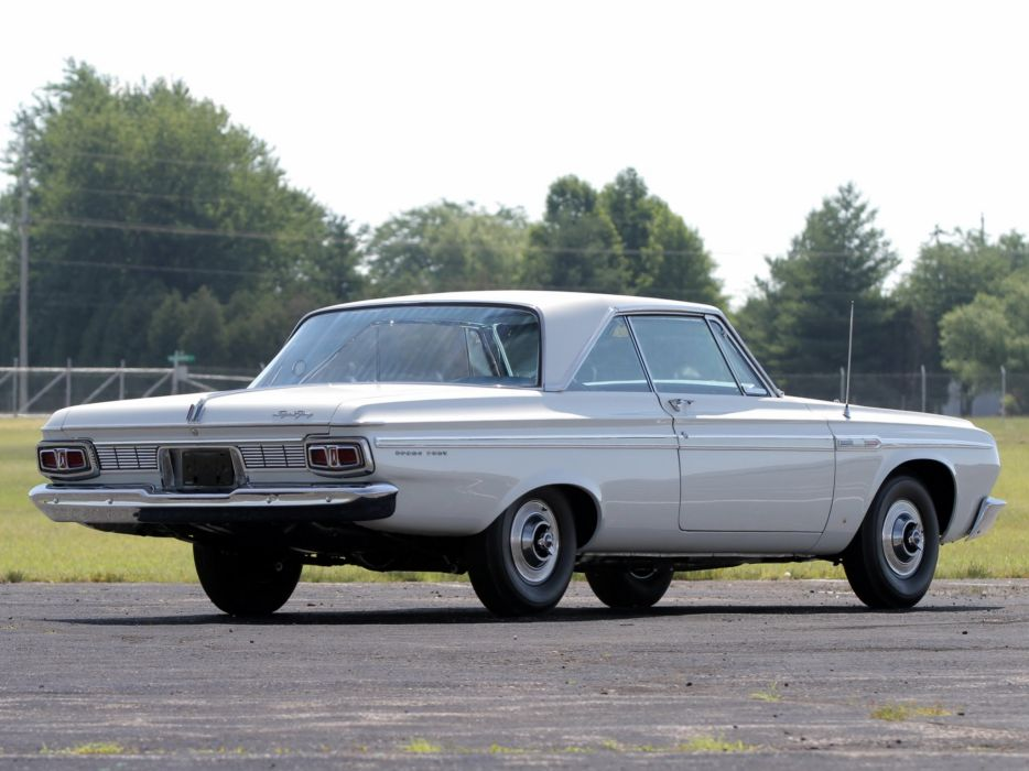 1964 Plymouth Sport Fury 426 Max-Wedge Stage-III Hardtop Coupe (VP2-P-342) muscle classic e wallpaper