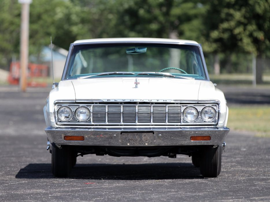 1964 Plymouth Sport Fury 426 Max-Wedge Stage-III Hardtop Coupe (VP2-P-342) muscle classic w wallpaper