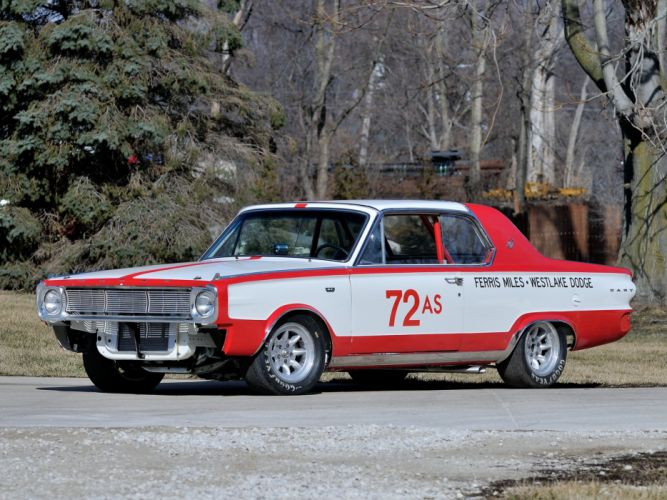 1966 Dodge D-Dart G-T 273 275HP NHRA SuperStock Race (BL2P-23) dart racing hot rod rods classic f wallpaper