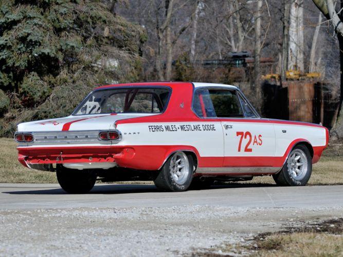 1966 Dodge D-Dart G-T 273 275HP NHRA SuperStock Race (BL2P-23) dart racing hot rod rods classic d wallpaper