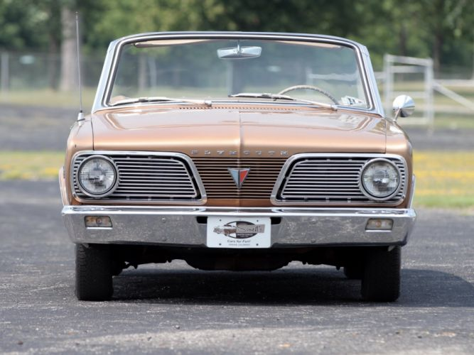 1966 Plymouth Valiant Signet Convertible (BV1-H-VH27) classic (5) wallpaper