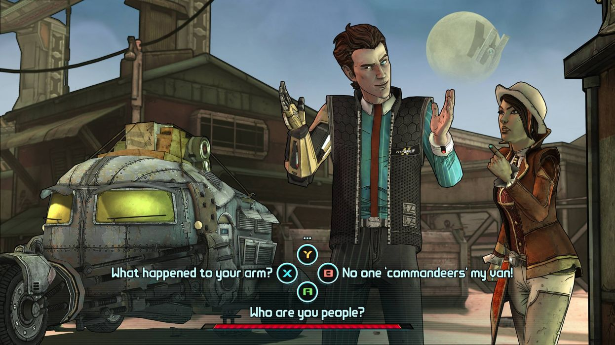 TALES-FROM-THE-BORDERLANDs borderlands adventure point-and-click sci-fi (16) wallpaper