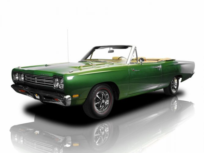 1969 Plymouth Road Runner 383 Convertible (RM27) muscle classic (1) wallpaper