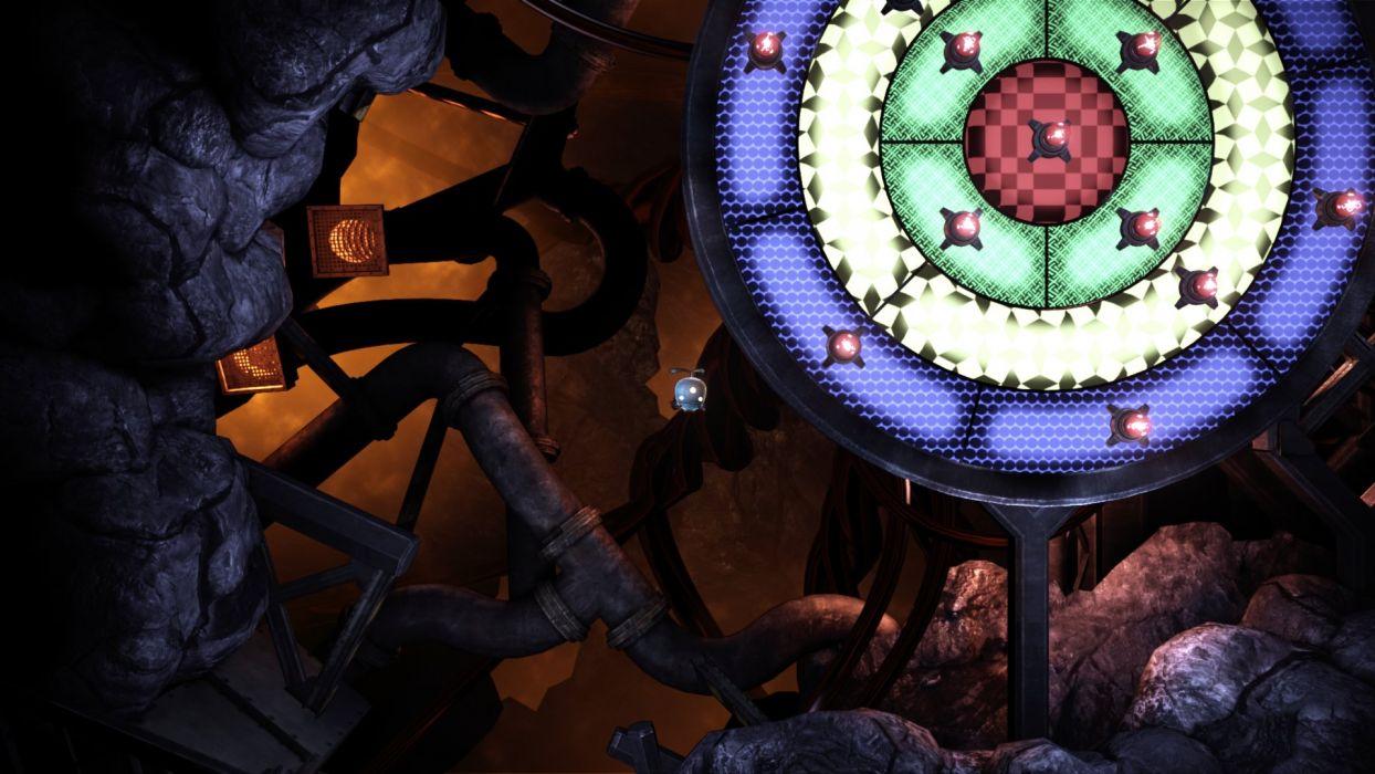 UNMECHANICAL puzzle adventure family 2-5D sci-fi (1) wallpaper