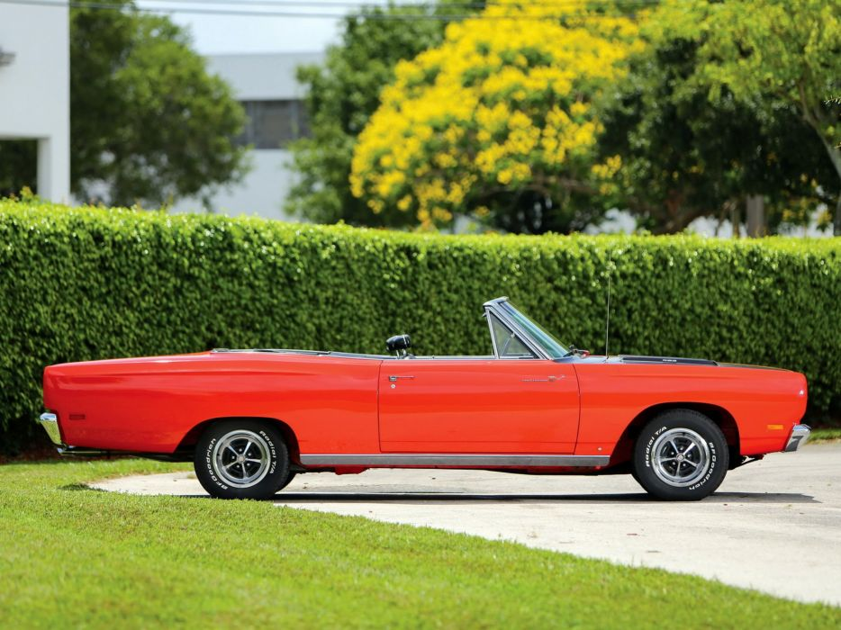 1969 Plymouth Road Runner 383 Convertible (RM27) muscle classic (5) wallpaper