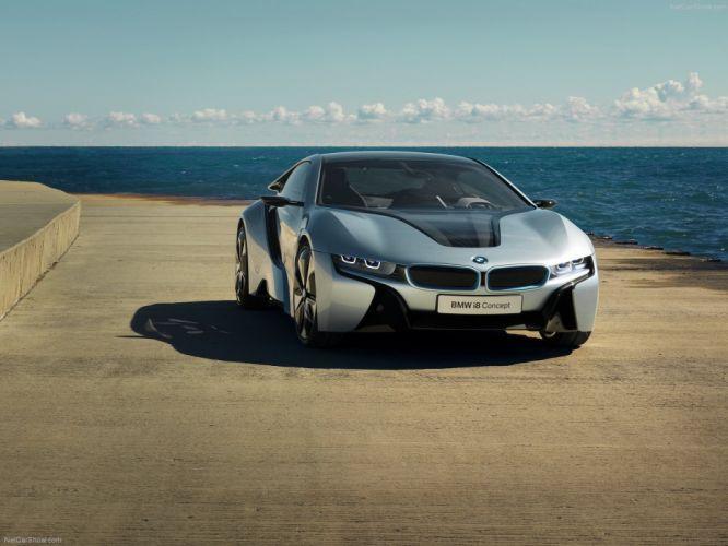 2011 BMW Concept i 8 Supercar supercars wallpaper