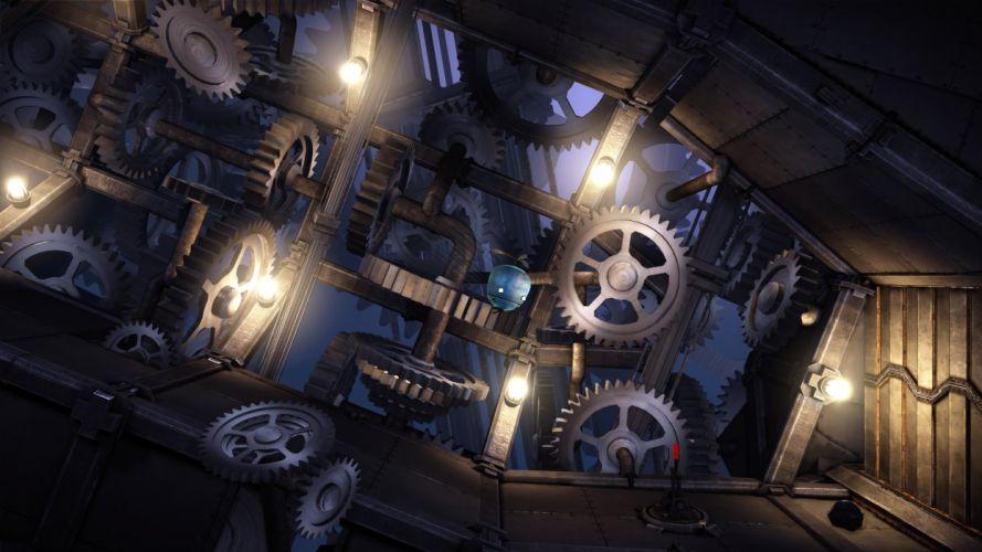 UNMECHANICAL puzzle adventure family 2-5D sci-fi (8) wallpaper