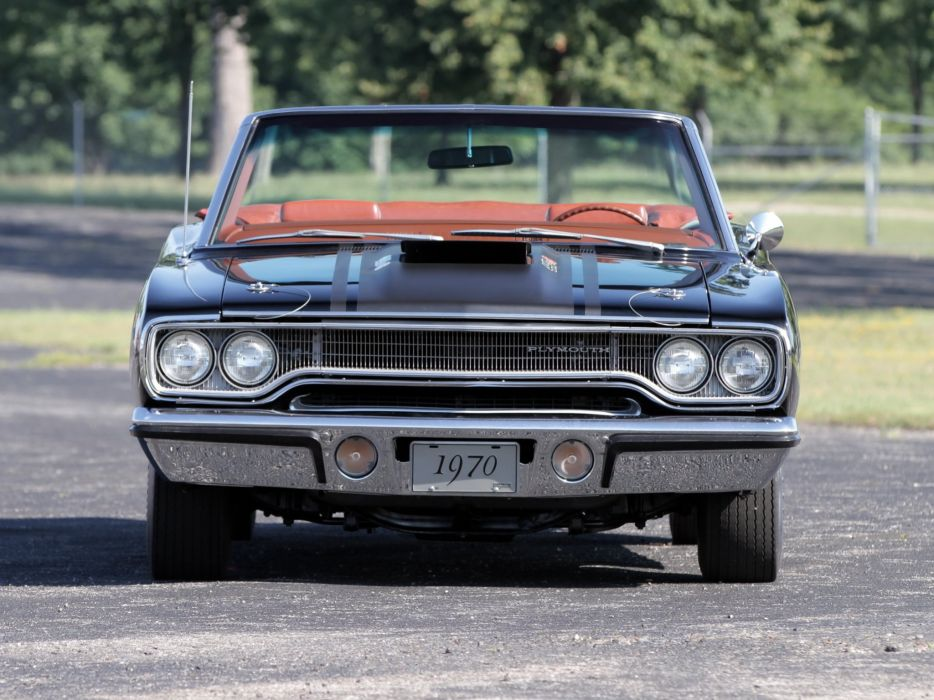 1970 Plymouth Road Runner 440-6 Convertible (FR2-RM27) muscle classic 440 (3) wallpaper