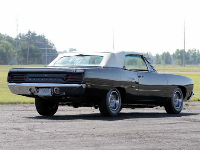 1970 Plymouth Road Runner 440-6 Convertible (FR2-RM27) muscle classic 440 (6) wallpaper