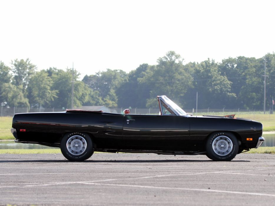 1970 Plymouth Road Runner 440-6 Convertible (FR2-RM27) muscle classic 440 (5) wallpaper