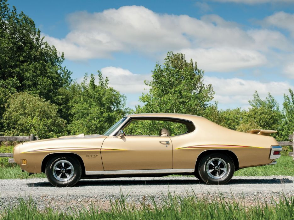 1970 Pontiac GTO 455 Hardtop Coupe (24241) muscle classic wallpaper