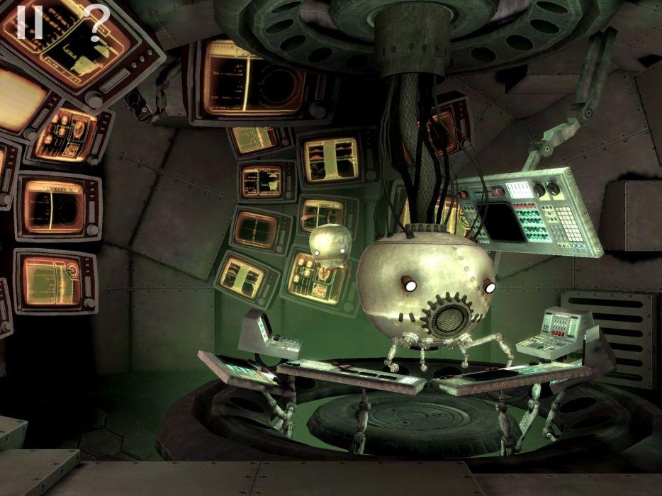 UNMECHANICAL puzzle adventure family 2-5D sci-fi (20) wallpaper