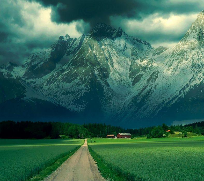 alps mountain wallpaper