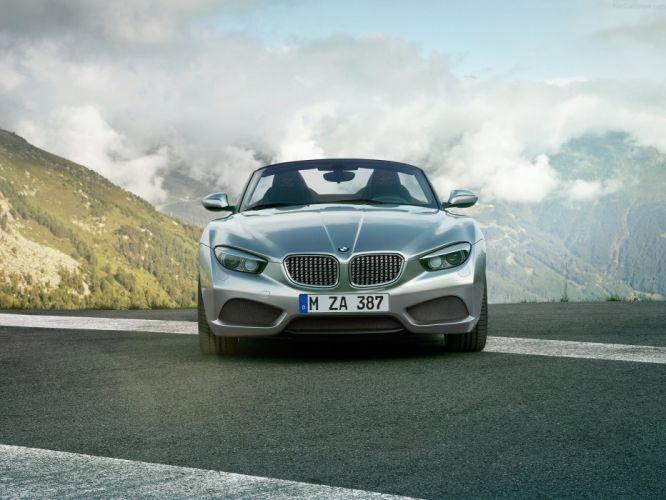 2012 BMW Concept roadster zagato wallpaper