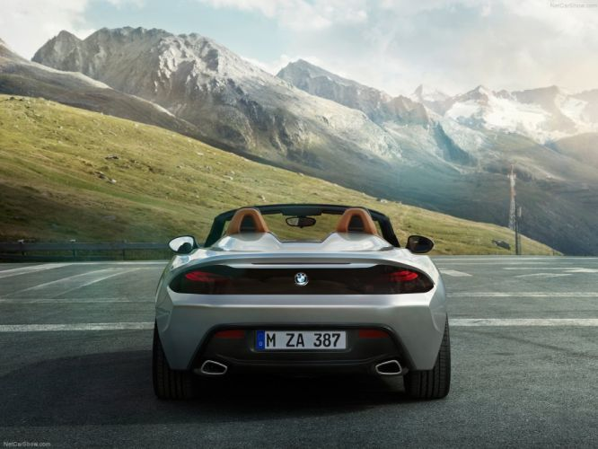 2012 BMW Concept roadster zagato wallpaper