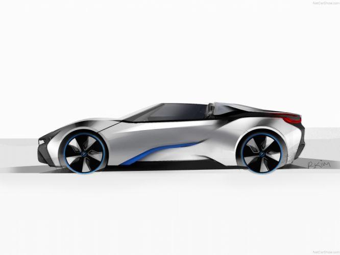 BMW i8 Spyder Concept wallpaper