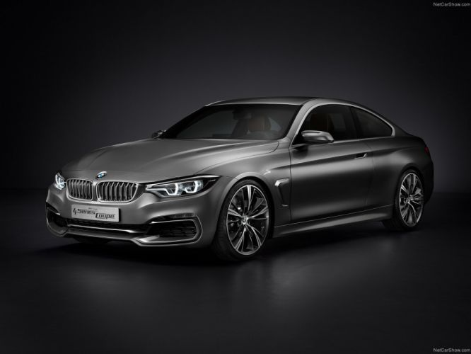 2013 4 series BMW Concept Coupe wallpaper