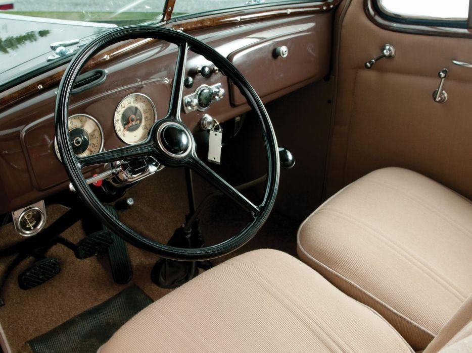 1936 Chevrolet Standard 2-door Town Sedan (F-C) retro (2) wallpaper