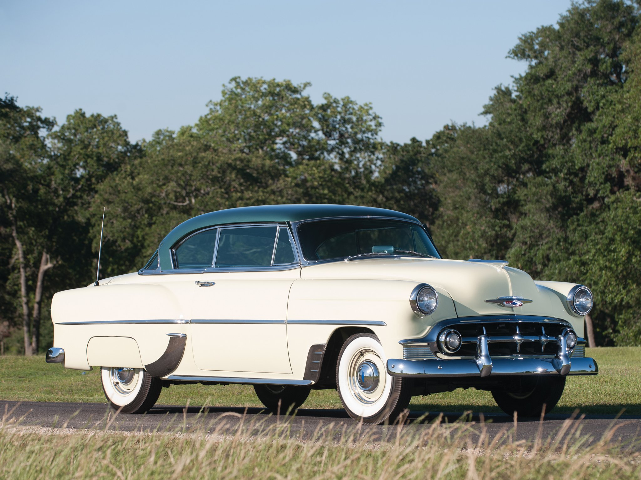 1953 Chevrolet DeLuxe 210 Sport Coupe (B-2154-1037) retro (1 ...