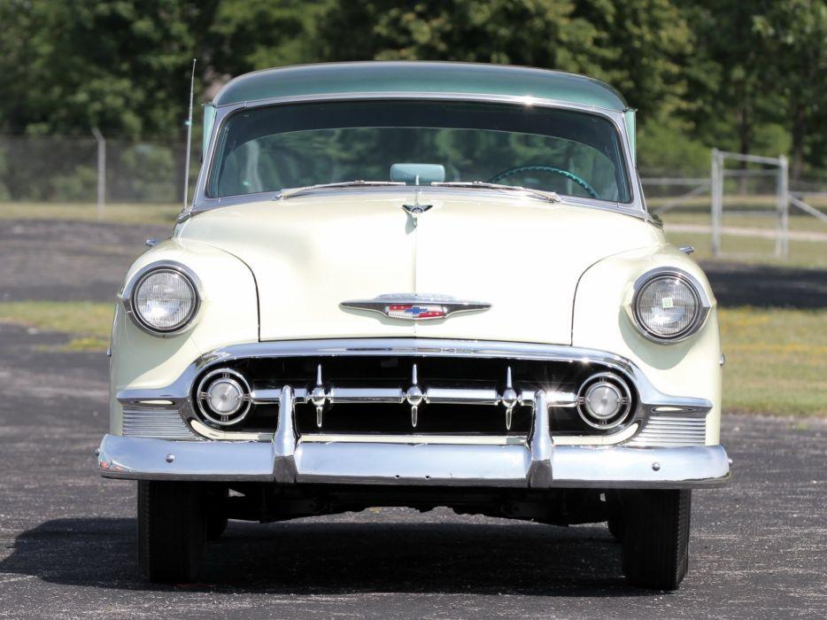 1953 Chevrolet DeLuxe 210 Sport Coupe (B-2154-1037) retro (6) wallpaper