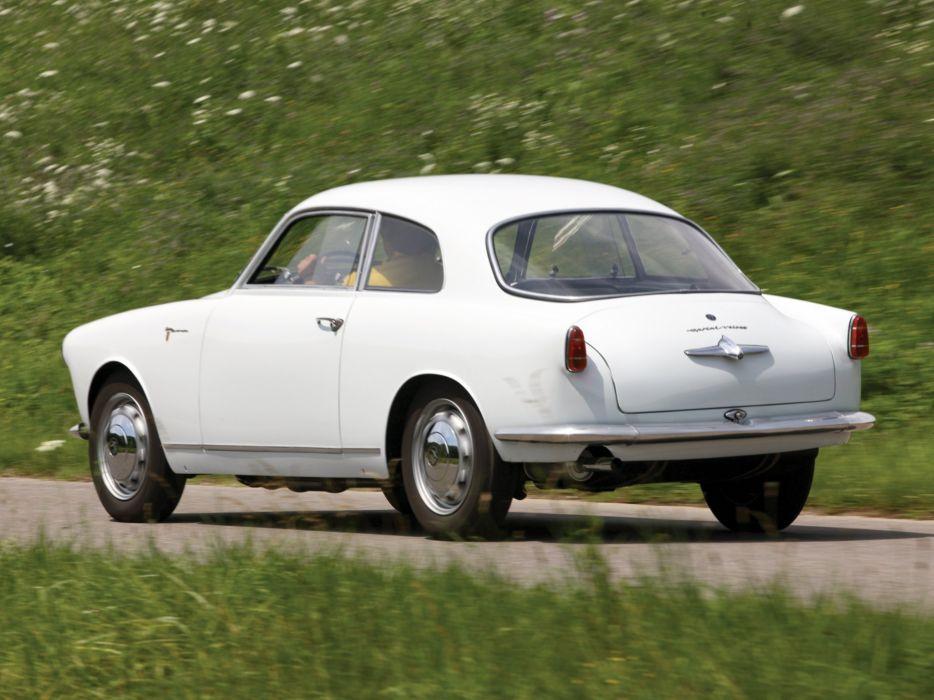 1956 Alfa Romeo Giulietta Sprint Veloce Alleggerita (750) retro r wallpaper