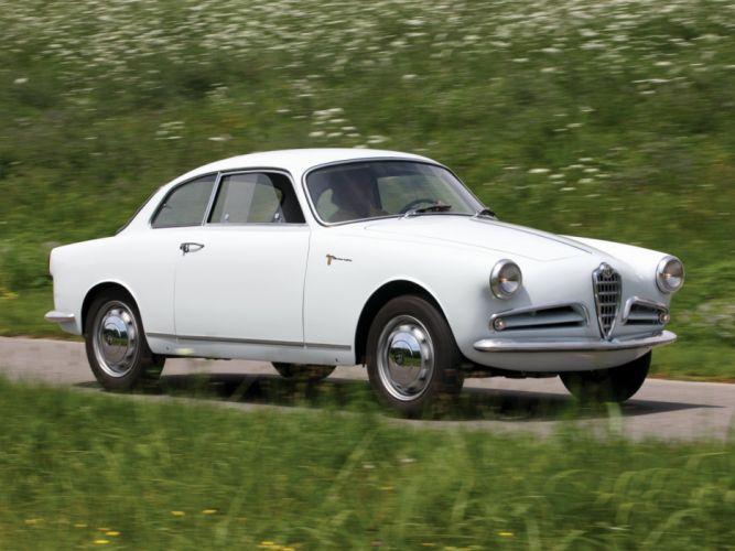 1956 Alfa Romeo Giulietta Sprint Veloce Alleggerita (750) retro g wallpaper