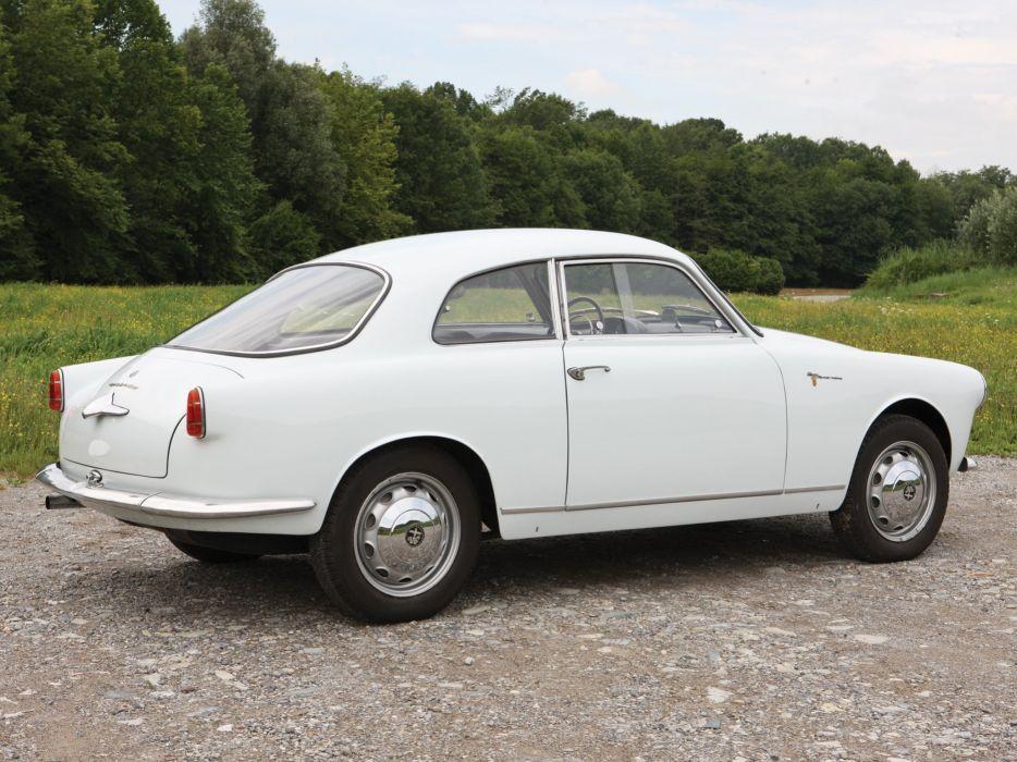 1956 Alfa Romeo Giulietta Sprint Veloce Alleggerita (750) retro t wallpaper
