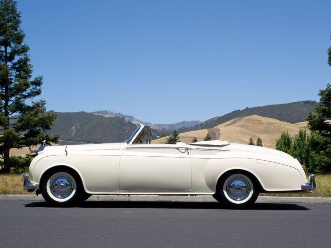 1959 Rolls Royce Silver Cloud Drophead Coupe luxury retro f wallpaper