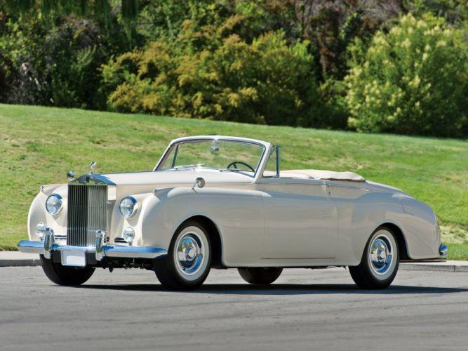 1959 Rolls Royce Silver Cloud Drophead Coupe luxury retro y wallpaper