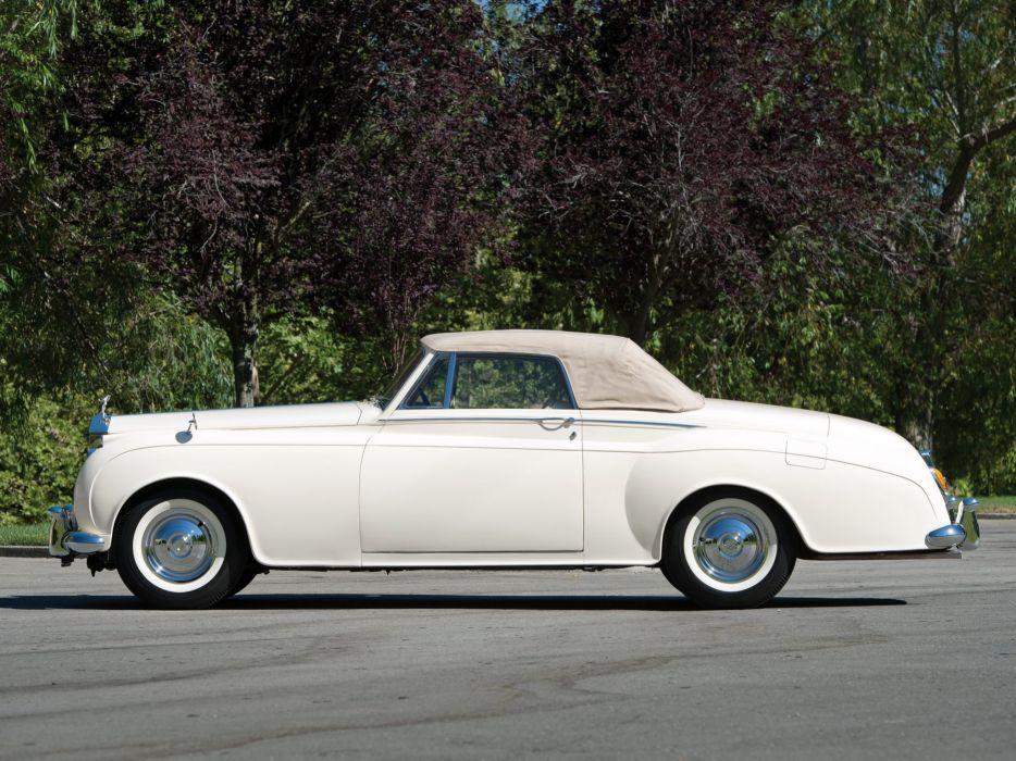 1959 Rolls Royce Silver Cloud Drophead Coupe luxury retro w wallpaper