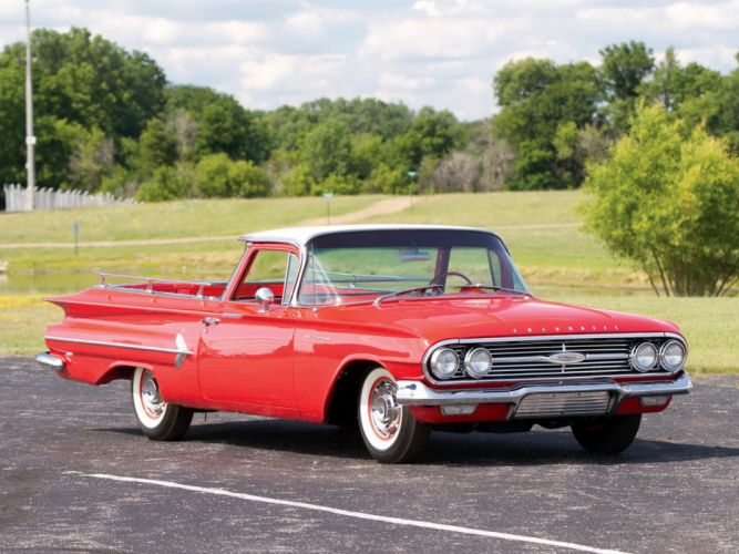 1960 Chevrolet El-Camino pickup classic camino f wallpaper