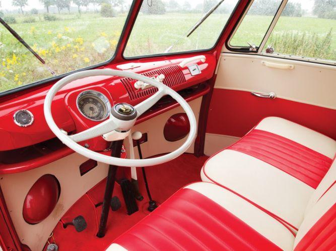 1964aei66 Volkswagen T-1 Deluxe Micro Bus van classic (4) wallpaper