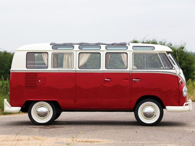 1964aei66 Volkswagen T-1 Deluxe Micro Bus van classic (5) wallpaper