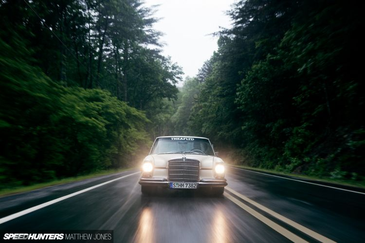1969 Mercedes Benz 280S tuning v-8 (11) wallpaper