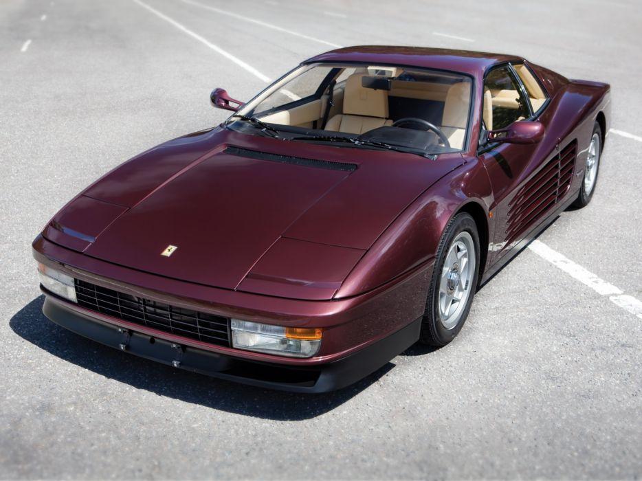 1986-92 Ferrari Testarossa supercar f wallpaper