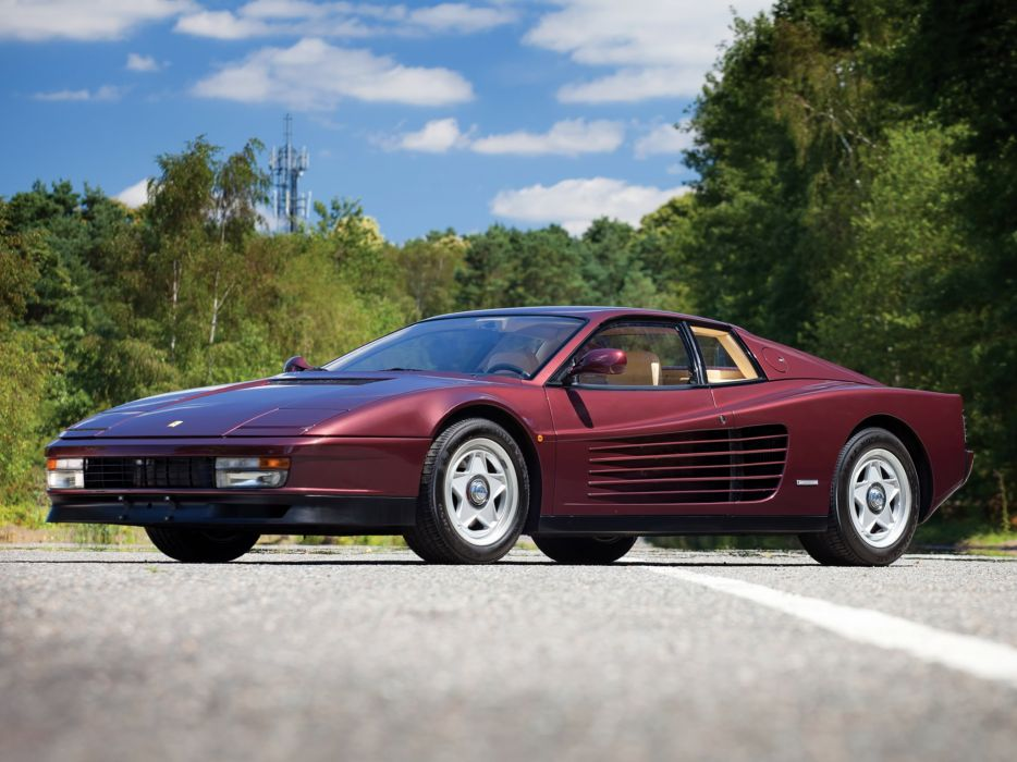 1986-92 Ferrari Testarossa supercar w wallpaper