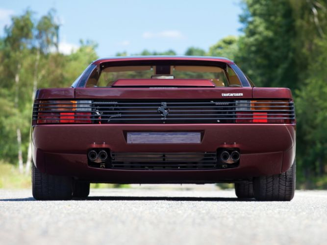 1986-92 Ferrari Testarossa supercar ggf wallpaper