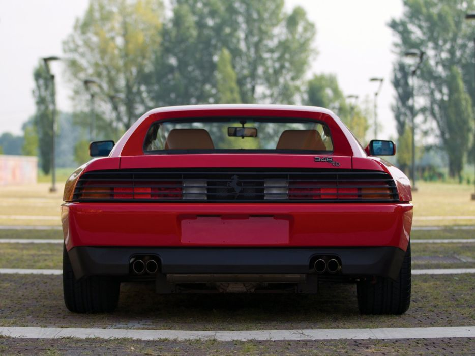 1989-93 Ferrari 348 T-B supercar (1) wallpaper