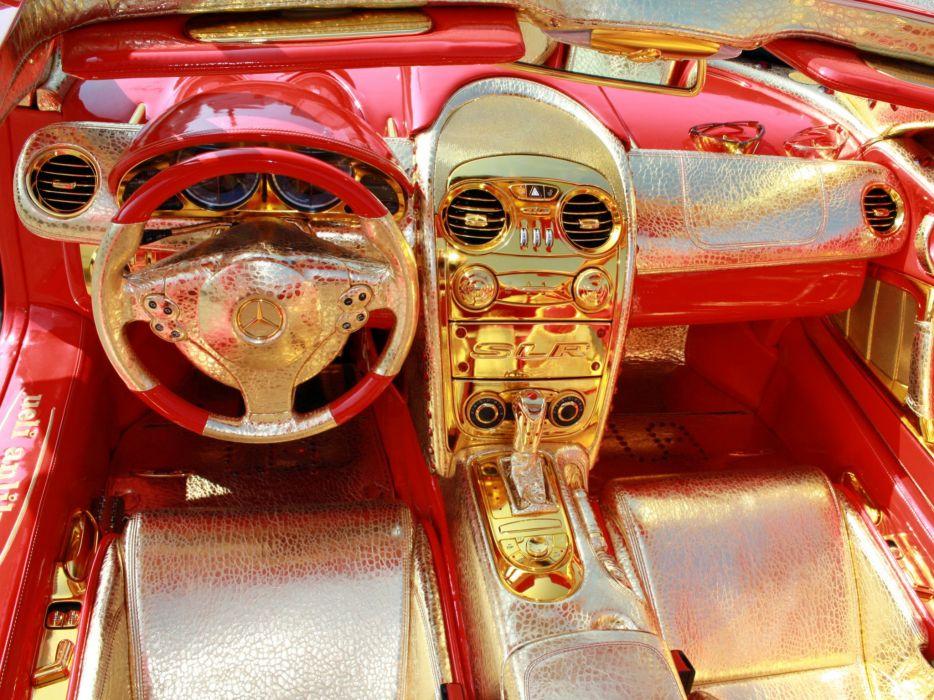 2011 Anliker Mercedes Benz SLR McLaren 999 Red-Gold-Dream tuning f wallpaper