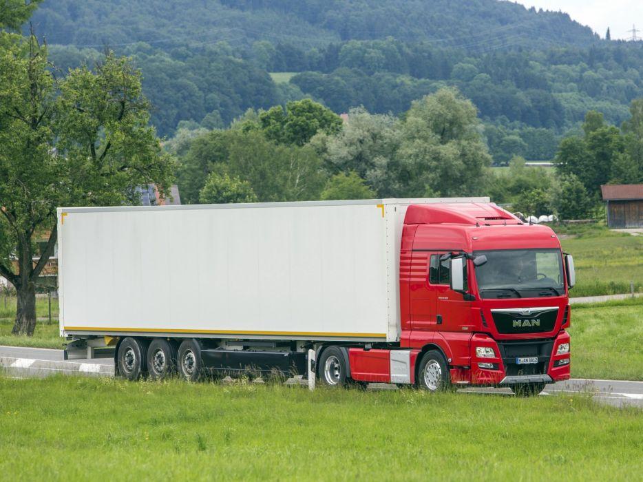 2014 MAN TGX 18-560 4x2 semi tractor d wallpaper