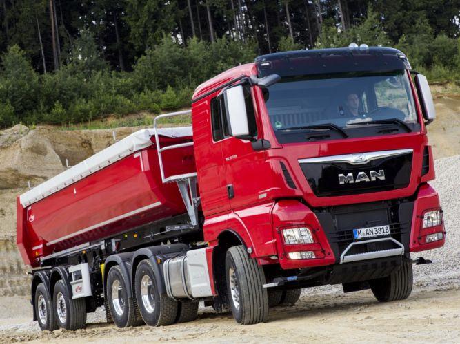 2014 MAN TGX 33-520 6x4 semi tractor (2) wallpaper
