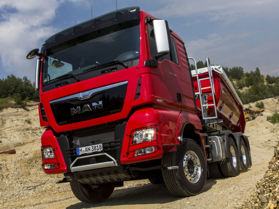 2014 MAN TGX 33-520 6x4 semi tractor (5) wallpaper