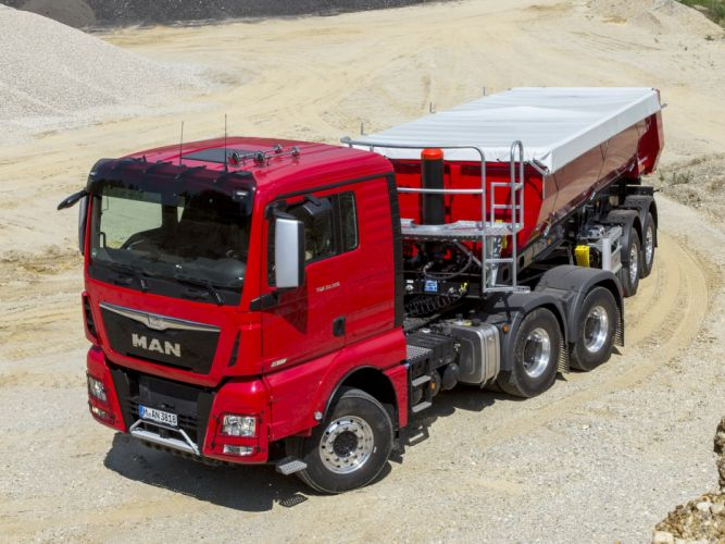 2014 MAN TGX 33-520 6x4 semi tractor (6) wallpaper