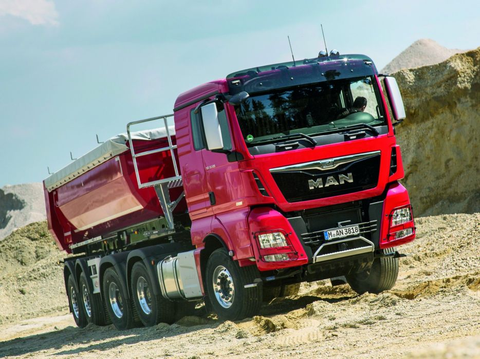 2014 MAN TGX 33-520 6x4 semi tractor (3) wallpaper