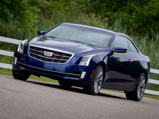 2015 Cadillac ATS Coupe luxury e wallpaper