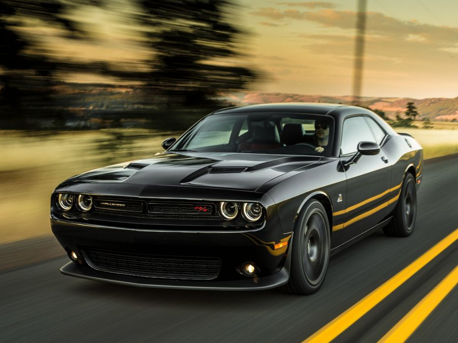 2015 Dodge Challenger R-T Scat-Pack (L-C) muscle scat pack w wallpaper
