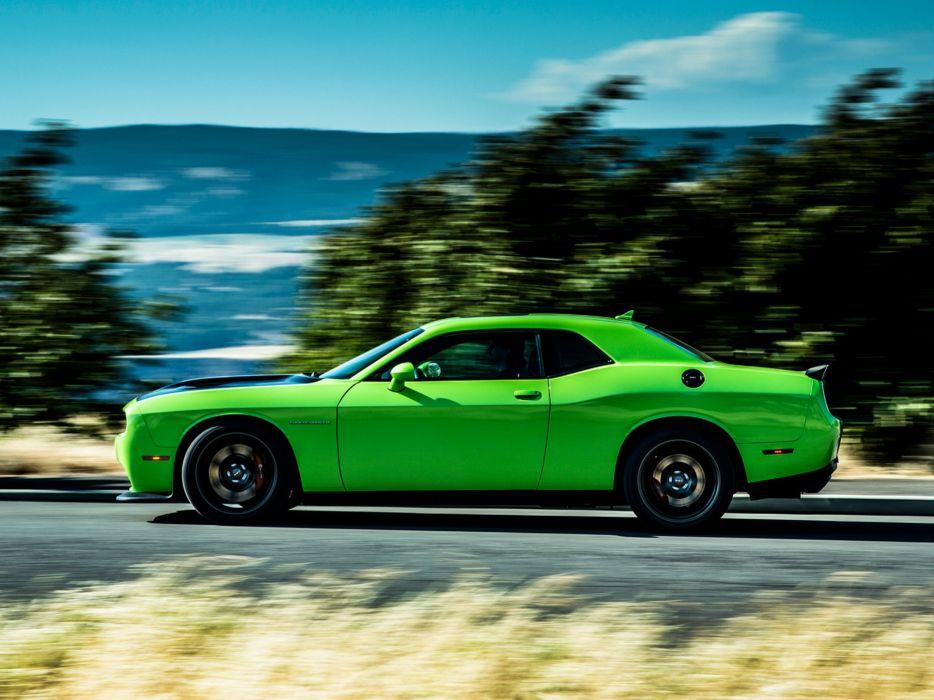 2015 Dodge Challenger SRT Hellcat (L-C) muscle y wallpaper