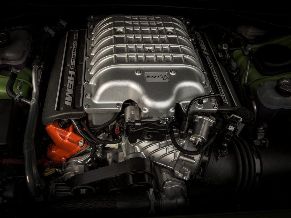 2015 Dodge Challenger SRT Hellcat (L-C) muscle d wallpaper
