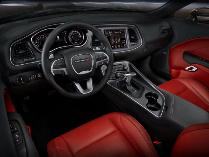 2015 Dodge Challenger SXT Plus (L-C) muscle wq wallpaper