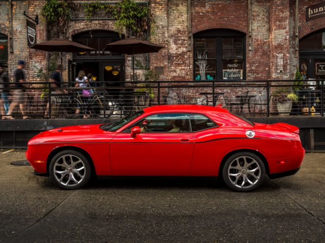 2015 Dodge Challenger SXT Plus (L-C) muscle wq wallpaper